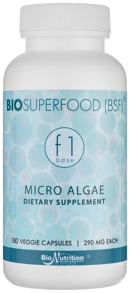 BIOSUPERFOOD F1 Base – 180 veggie caps